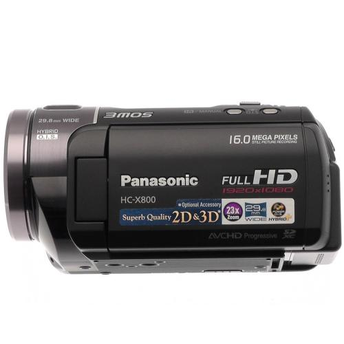 HCX800 Hd Camcorder
