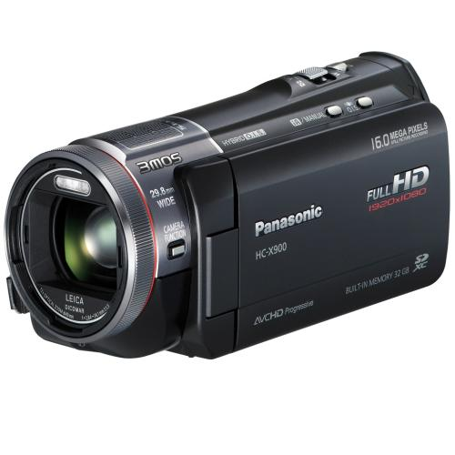 HCX900 Hd Camcorder