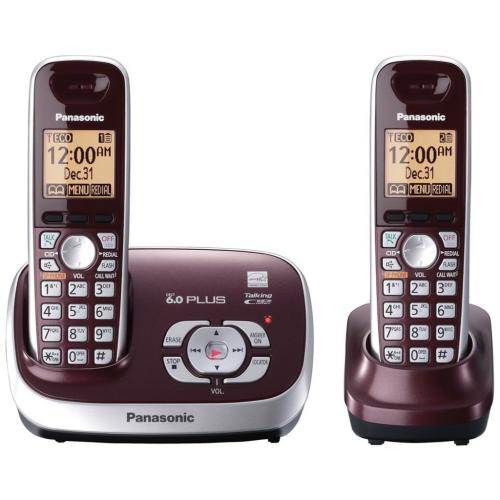 KXTG6572R Expandable Digital Cordless Answering System